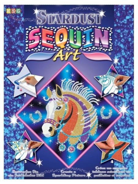 Набір для творчості Sequin Art STARDUST Кінь SA1314