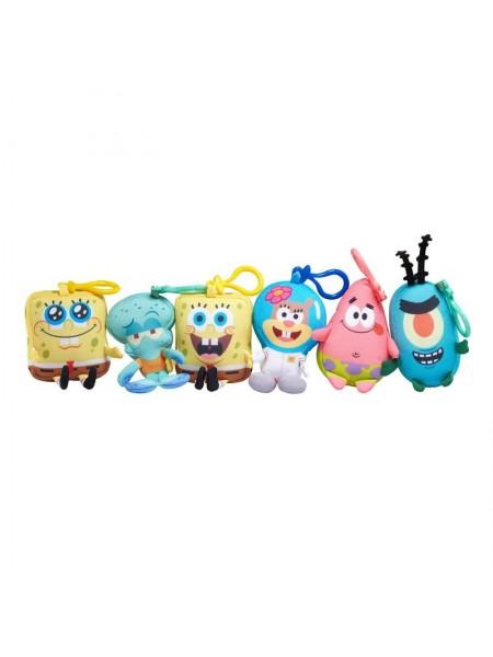 М'яка ігрaшка-брелок SpongeBob Mini Key Plush SpongeBob в ассорт.
