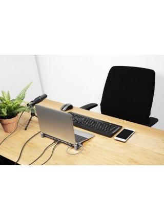 USB-хаб Trust Dalyx Aluminium 10-in-1 USB-C Multi-port Dock (23417_TRUST)