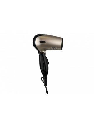 Фен Ardesto HD-503T дорожній/1200 Вт/складана ручка/2 швидкості/2 темпер. режими/сріблясто-чорний
