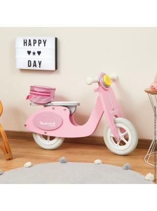 Толокар Janod Ретро скутер рожевий J03239