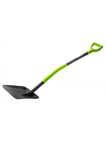 Лопата VERTO, пластиковий тримач (15G012)
