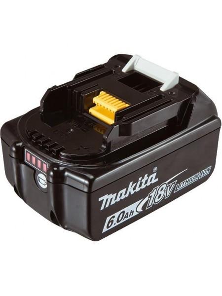Акумулятор Makita LXT BL1860B Makita, 18В, 6.0 Ач, індикація розряду, 0.68 кг (632F69-8)