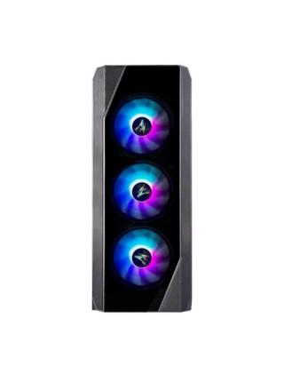 Корпус Zalman N5 TF, MidT, 2xUSB2.0,1xUSB3.0, 4x120мм RGB,скло(фронт.панель),акрил(бічна панель),без