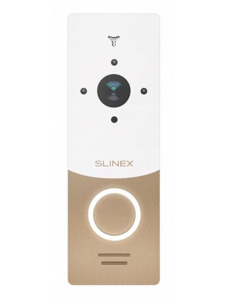 IP панель виклику Slinex ML-20IP v2 золото/білий