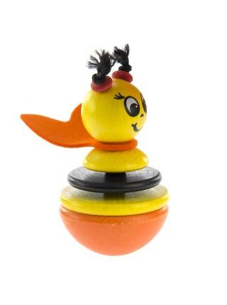 Nic Іграшка-неваляшка дерев'яна Бджілка NIC61551