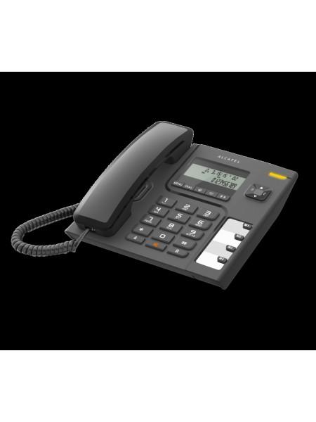 Дротовий телефон (чорний) Alcatel T56 RU BLK (ALT1414721)