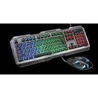 Набор клавиатура и мышка проводная TRUST GXT 845 Tural Combo Ru (23411)