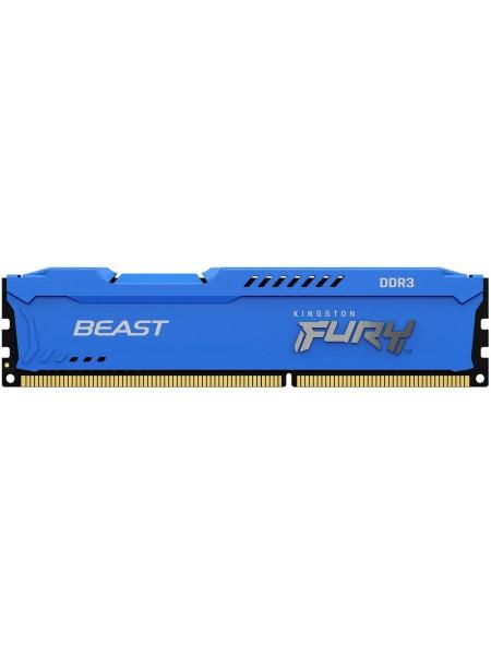 Пам'ять до ПК Kingston DDR3 1600 16GB KIT (8GBx2) FURYBeastBlue