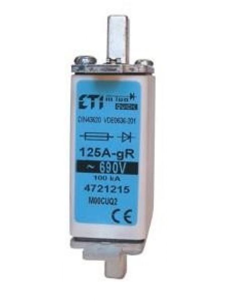 Запобіжник ETI M000UQ2 / 50A / 690V gR (200 кА)