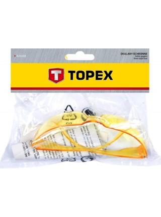 Окуляри захисні TOPEX 82S116, жовті (82S116)