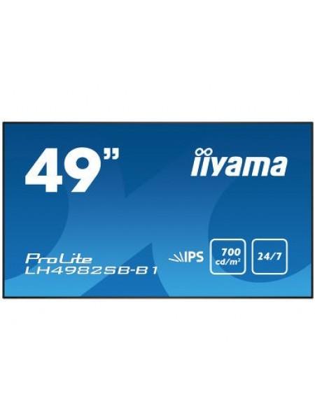 """Інформаційний дисплей 49"""" Iiyama LH4982SB-B1"""