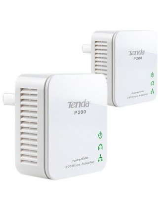 Powerline Адаптер TENDA P200, 200Mbit (2шт), 1xFE