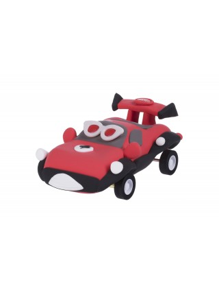 Маса для ліплення Paulinda Super Dough Racing time машинка червона PL-081161-4