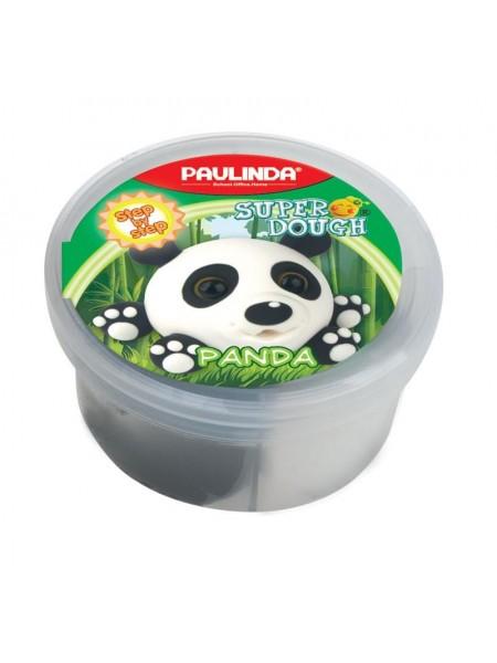 Маса для ліплення Paulinda Super dough 40г Панда PL-081394-7