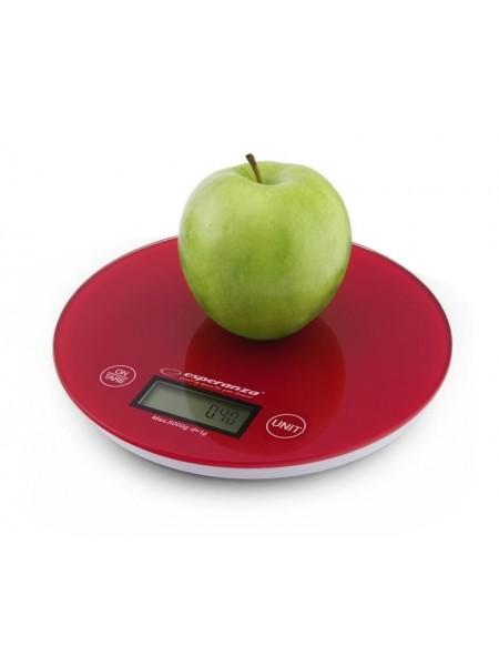 Ваги кухонні Esperanza Scales EKS003R Red