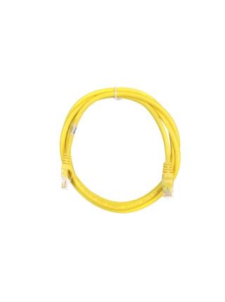 Патч-корд 2E Cat 6,UTP,RJ45, 26AWG ,7/0.16 Cu, 1.50 m, PVC,Yellow