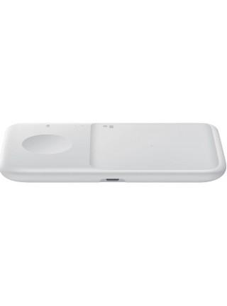 Бездротовий зарядний пристрій Samsung Wireless Charger Duo (with TA) White (EP-P4300TWRGRU)