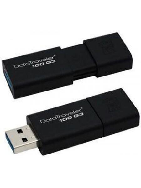 Флеш пам'ять USB 3.0 DataTraveler 100 G3 (2pcs) Kingston DT100G3/64GB-2P