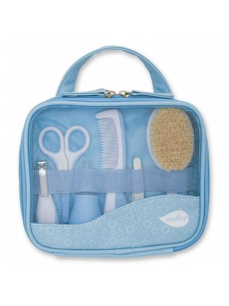 Набір по догляду за дитиною Nuvita Великий 0м+ Блакитний NV1146Blue