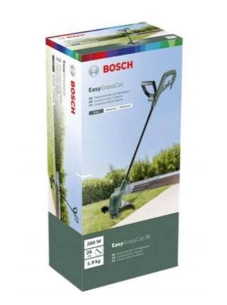 Тример садовий Bosch EasyGrassCut 26, 280 Вт, 26 см, шпулька 1.6 мм x 4 м, 1.9 кг (0.600.8C1.J00)
