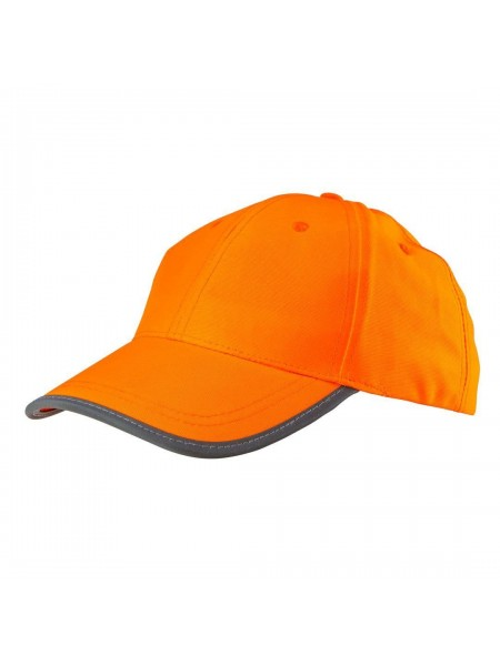 Бейсболка NEO сигнальна помаранчева, однотонна (81-794)