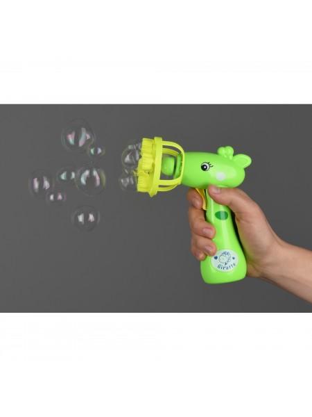 Мильні бульбашки Same Toy Bubble Gun Жираф зелений 801Ut-1