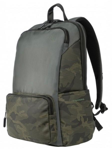 "Рюкзак Tucano Terras Camouflage 15.6"", хакі зелений"