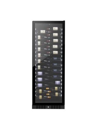 Винна шафа вбудована Philco PW1433LV/143 бутилки/5-22 С/Led-підсвітка/сенсор/дисплей/черний