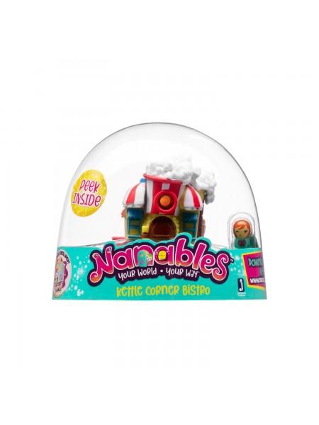 """Ігрова фігурка Jazwares Nanables Small House Містечко солодощів Бістро """"Попкорн"""""""