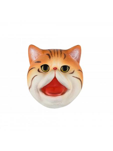 Іграшка-рукавичка Same Toy Кіт рудий X326-R-UT