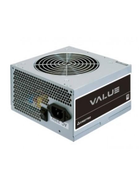 Блок живлення CHIEFTEC Value APB-400B8,400W,12cm fan,eff. >80%,24+8pin(4+4),2xMolex,3xSATA,1xPCIe 8p