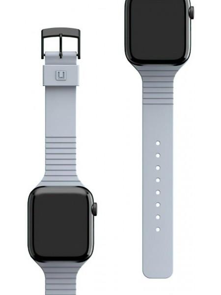 Ремінець UAG [U] для Apple Watch 44/42 Aurora, Soft Blue