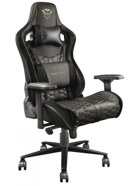 Ігрове крісло Trust GXT 712 Resto Pro Black
