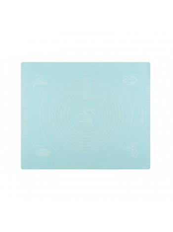 Килимок для випікання Ardesto Tasty baking 50*60 см, голубий, силіконовий (AR2308ST)