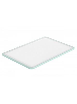 Дошка кухонна Ardesto Fresh, 205х290х7 мм, голубий тіфані, пластик (AR1401TP)