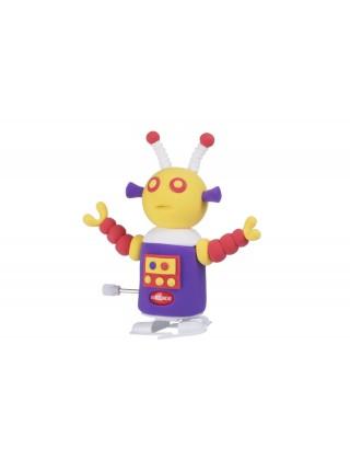 Маса для ліплення Paulinda Super Dough Robot заводний механізм (крокує), фіолетовий PL-081178-4