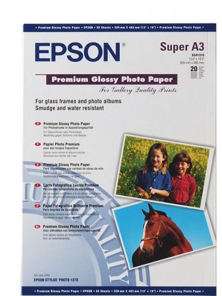 Фотопапір Epson A3+ Premium Glossy Photo Paper (C13S041316)
