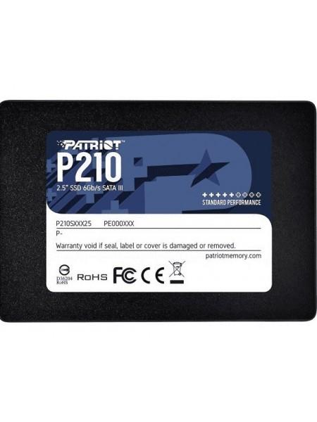 """Накопичувач 2.5"""" SSD 256GB PATRIOT P210S256G25"""