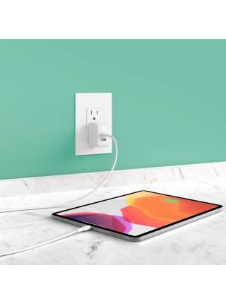 Мережевий ЗП Playa by Belkin Home Charger 12W DUAL USB 2.4A, white (PP0007VFC2-PBB)