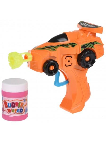 Мильні бульбашки Same Toy Bubble Gun Машинка помаранчевий 803Ut-3
