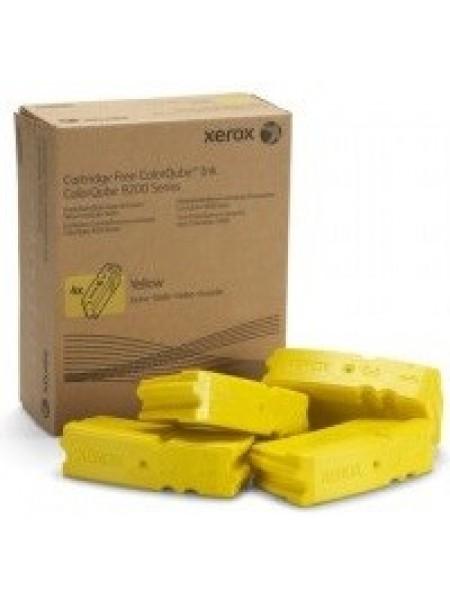 Брикети твердочорнильні Xerox CQ9201/9202/9203/9301/9302/9303 Yellow (37000 стр) (108R00839)