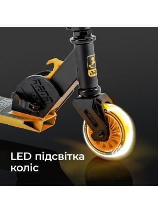 Самокат Neon Vector Помаранчевий