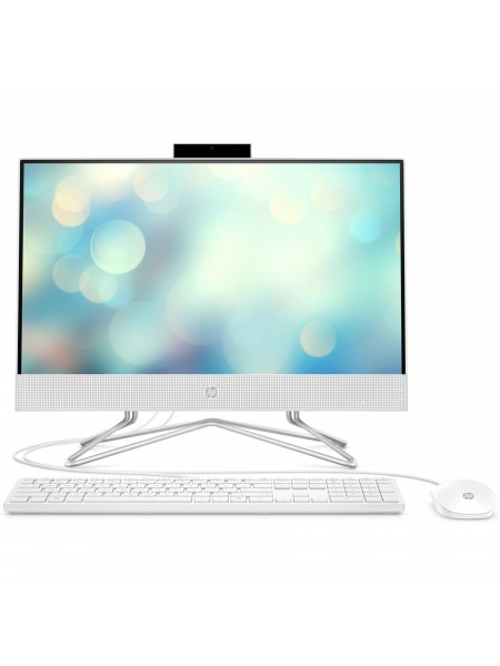 Персональний комп'ютер-моноблок HP All-in-One 21.5FHD IPS AG/Intel i3-10100T/8/256F/ODD/int/kbm/W10/