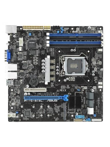 Материнська плата серверная ASUS P11C-M/4L s1151 C242, 4xDDR4, M.2 mATX