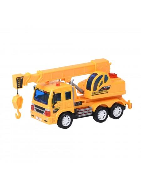 Машинка на р/к Same Toy CITY Колісний кран F1604Ut
