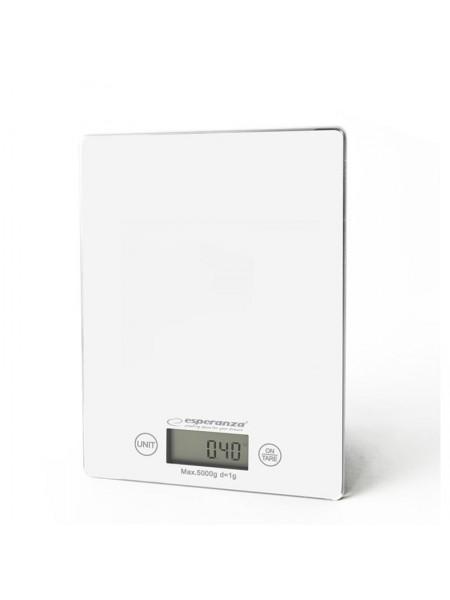 Ваги кухонні Esperanza Scales EKS002W White