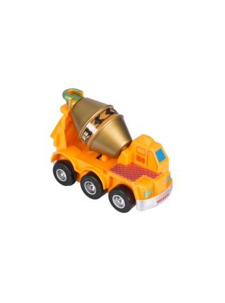 Заводна машинка goki помаранчева 13219G-4