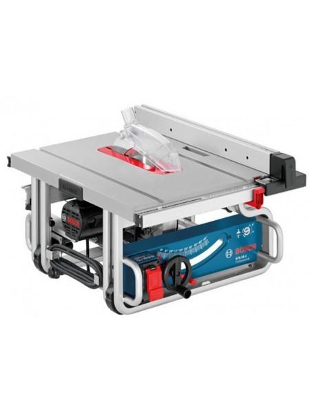 Розпилювальний стіл Bosch GTS 10 J, 1800 Вт, диск 254 мм, наклонЛ 47°/П 2°, 642 x 634мм, 27кг (0.601