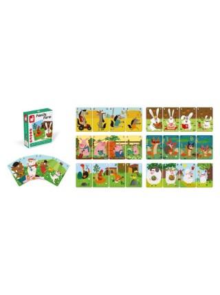 Настільна гра Janod Happy Families Ферма J02756